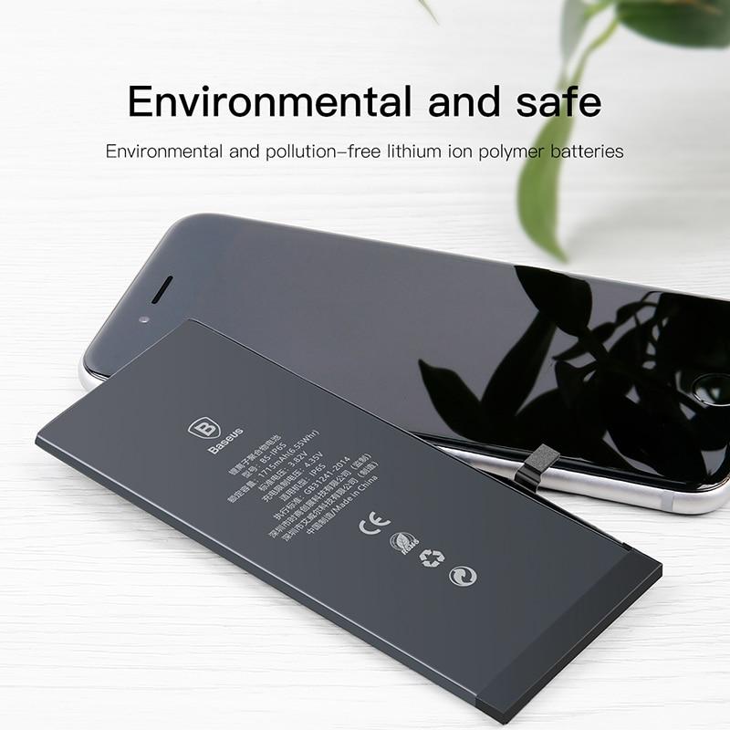 Baseus Original Phone Battery For iPhone 6 2200mAh High Capacity Replacement Batteries For iPhone 6 with Free Repair Tools 2