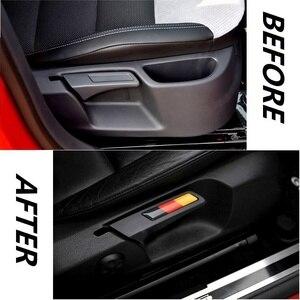 Image 2 - Clé autocollante de décoration pour Volkswagen Golf 6 / GTI / Sagitar / Touran Seat, Liftincg, 2 pièces