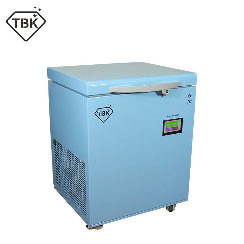 -180C Frozen separator professional mass Freezing Machine TBK-598 for Samsung edge iPhone X  LCD Touch Screen Separating Machine