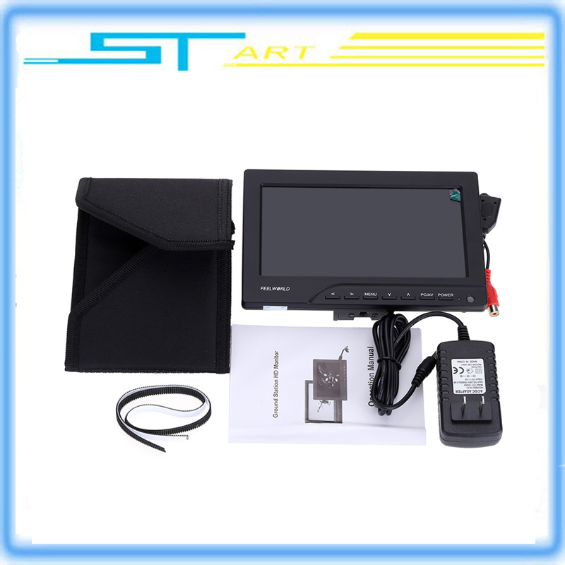 Rc Airplane FPV Monitor Feelworld FPV-769A 7inch HD 800*480p HDMI Out with Sun Shield for FPV RC Quadcoter DSLR Camera 2015 100% brand new trade edition sharp vision 7 inch 800 480 lcd fpv monitor with sunshade for rc quadcopter