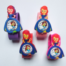 Children Cartoon Princess Watches 2019 Cool 4D Rubber Strap Kids Watch For Girls Clock Baby Toy Christmas Gift Relogio infantil
