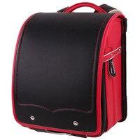 Brand Quality Orthopedic Children Backpack School Bags Solid Mochila Randoseru SchoolBag backpacks For Teenage Girls Cartable