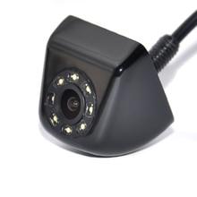 Новая Классика CCD HD Вид Сзади Автомобиля Парковочная Система камера Широкий Угол Водонепроницаемый 8 СВЕТОДИОДОВ Ночного Видения Парковка Реверсивный помощь