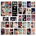 Kpop exo mismo párrafo modelos colectivos ex'act tarjeta lomo conjunto 30 sistema de la caja de tarjeta de k-pop hacer Fotos Libro de recuerdo Regalo Sticker Poster