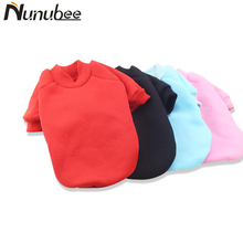 Nunubee Classic Warm Dog Clothes Puppy Pet Hoodies Coat Winter Clothes Soft Sweater Clothing For Small Dogs Chihuahua