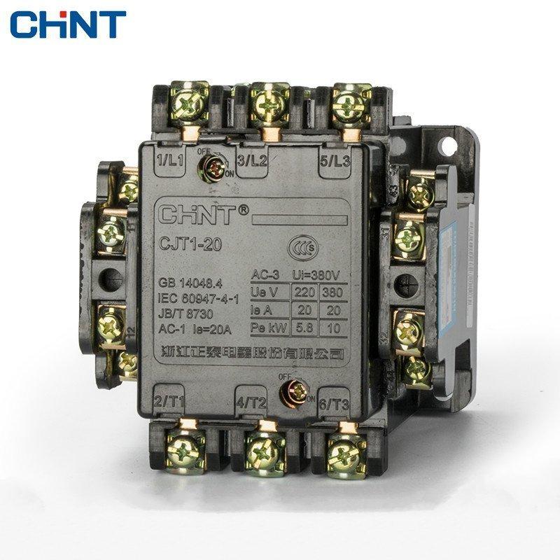 CHINT Communication Contactor CJT1-20 Rate Coil Voltage 36V 110V 127V 220V 380V CDC10-20