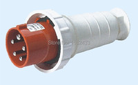 125A 3P N E 5 pin 220 380V/240 415V IP67 045 three watertight industrial plug