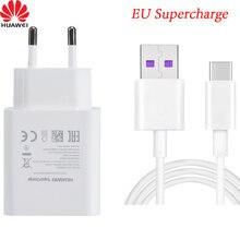 Original huawei 5v 4.5a 22.5w usb supercharge carregador rápido adaptador 5a tipo c cabo para companheiro 20 x p30 p20 pro p10 mais companheiro 9 10