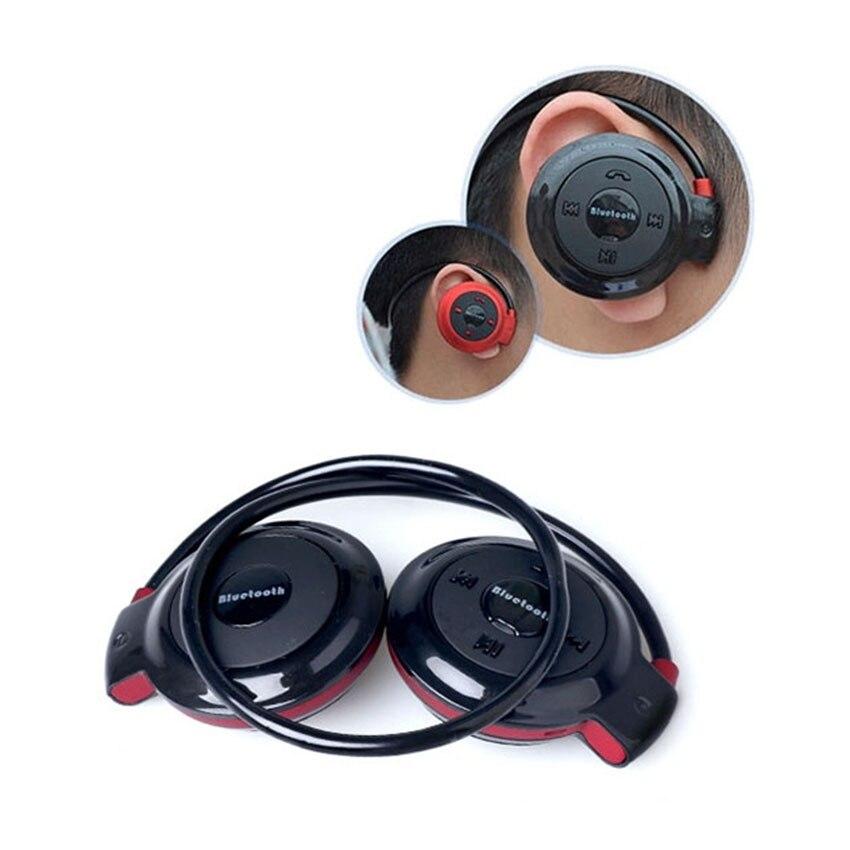 Aimitek Sport Wireless Bluetooth Headphones Stereo Earphones Mp3 Music Player Headset Earpiece Micro SD Card Slot Handsfree Mic 5