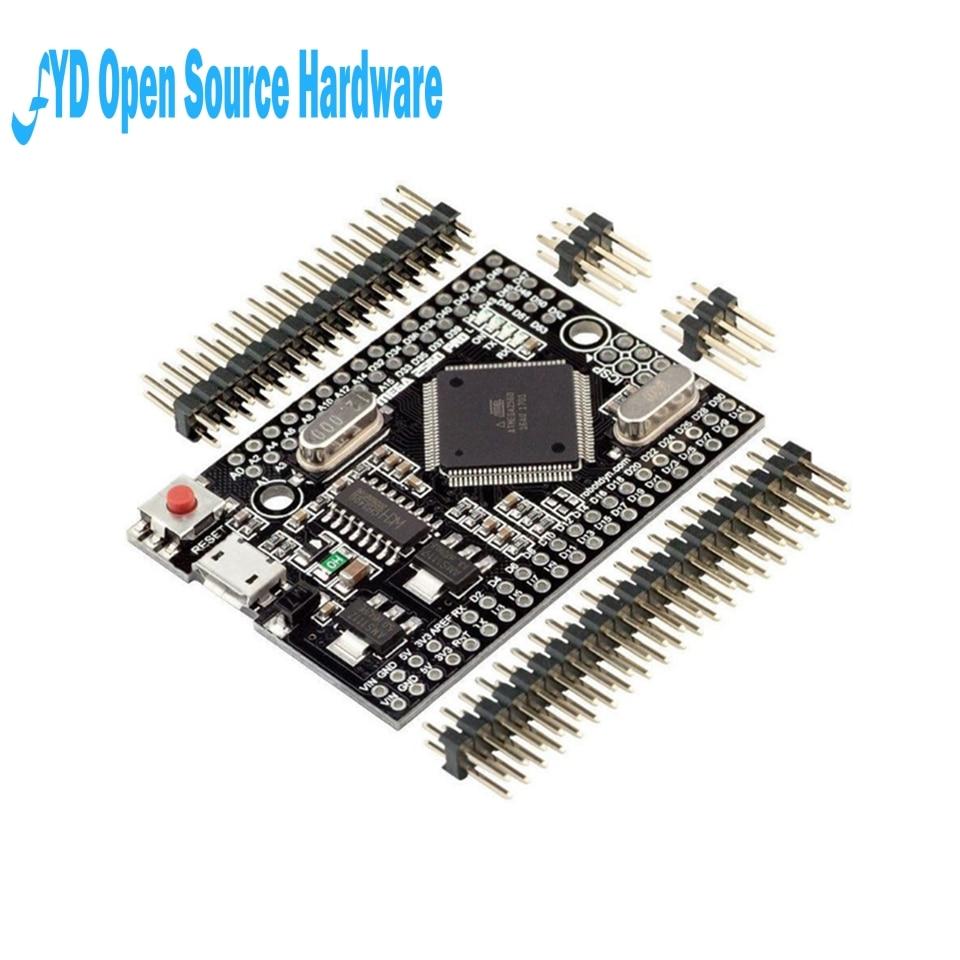 1 unid cable de conversión USB-serie Mega 2560 PRO MINI clavados MCU ATmega2560 USB CH340G electrónica Gadgets MINI