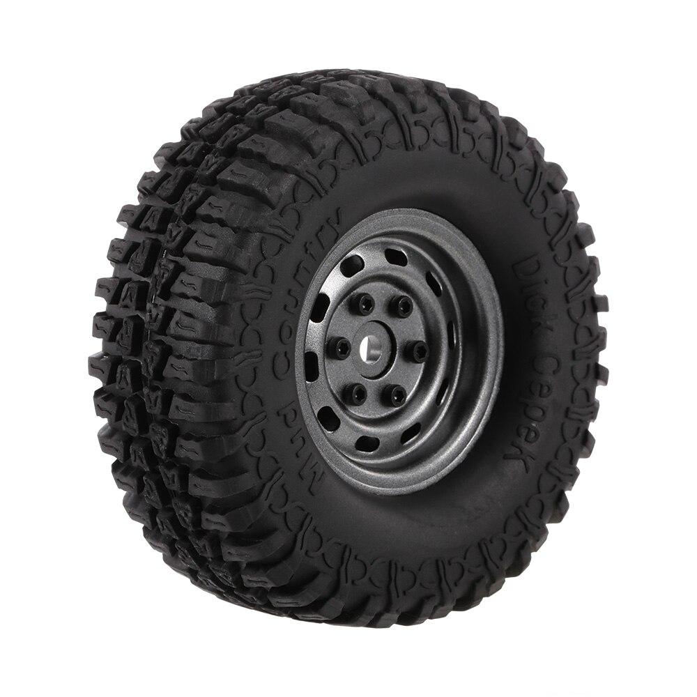 4pcs 3020 618GL RC Tires Crawler 100mm 1 9 Rim Rubber Tyre Tire Wheel for 1