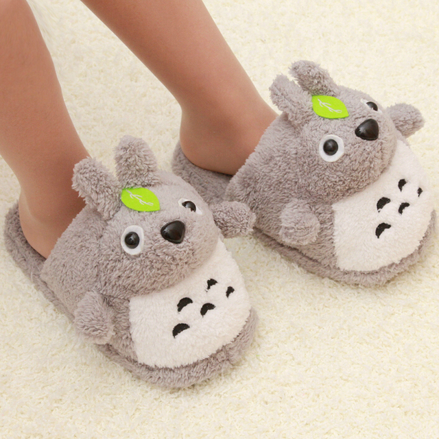 Totoro Slippers Cartoon Cute House Slippers Funny Slippers Home ...