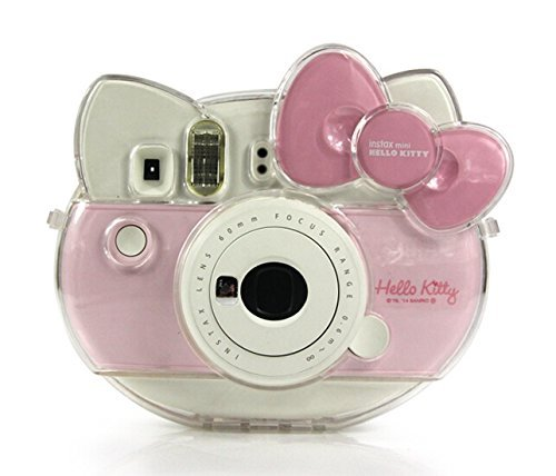 Fujifilm Instax Mini Hello Kitty Camera Transparent Crystal Case PVC Protector Instant Film Camera Shell Cover