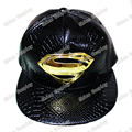 Superman Golden logo Snapback Caps Adult Hip-hop Hats Baseball Cap Clown for Men Women