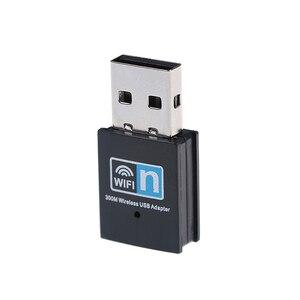Image 4 - Mini 300M USB2.0 RTL8192 Wifi dongle WiFi adapter Wireless wifi dongle Network Card 802.11 n/g/b wi fi LAN Adapter