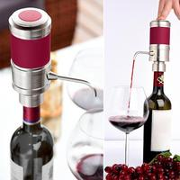 1Pcs Portable Electric Smart Fast Sobering Telescopic Suction Pipe Red Wine Cider Accessories For Home Bar