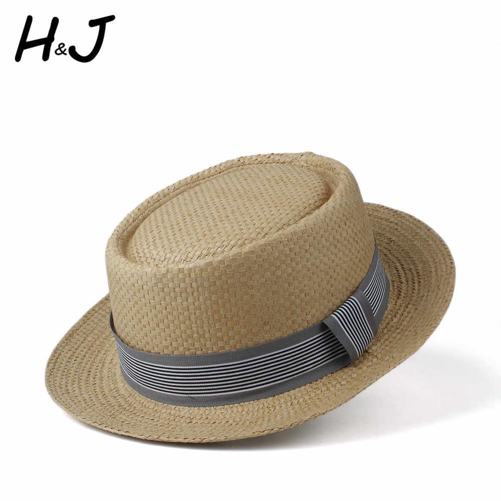 Шляпа от солнца для женщин и мужчин, летняя соломенная шляпа с рисунком пирога из свинины, шляпа от солнца для девушек, плоская пляжная Панама, шляпа для пляжа, размер 57-60 см
