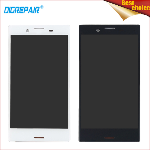 """4.5"""" High Quality Black/White For Sony Xperia X Compact Mini Smartphone LCD Display Digitizer Touch Screen Assembly Repair Parts"""
