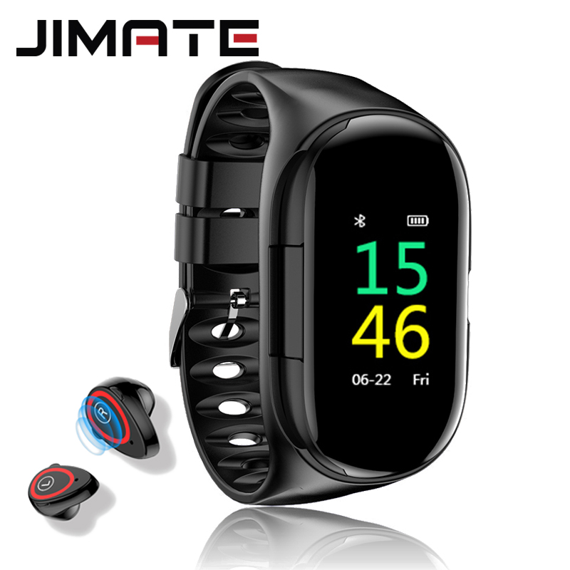 2019 New Smart <font><b>Watch</b></font> Bluetooth Earphone Men Women Heart Rate Blood Pressure Monitoring <font><b>M1</b></font> Smart <font><b>watch</b></font> Men for Android IOS image