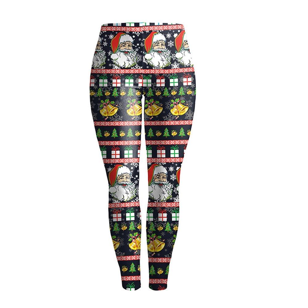 938eced8208a7 2017 New Hot Women Autumn Winter Warm Leggings Christmas Printed Stretchy  High Elastic Skinny Leggings Pants Feminino Ropa Mujer