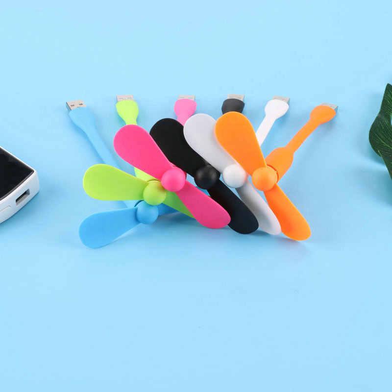 Kipas Angin Mini USB Mobile Power Kecil Fan Laptop Pengisian Treasure Ponsel USB ITAS6640A