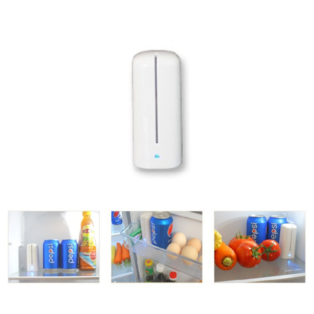 Ozone Air Purifier Fresh Deodorizer Fridge Food Fruit Vegetables Shoe Wardrobe Car O3 Ionizer Disinfect Sterilizer