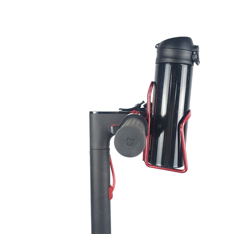 Aluminum Alloy Motorcycle Bicycle Water Bottle Cup Holder Scooter Drink Cage Spare Part