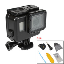Waterproof Housing Shell Case for GoPro Hero 7/2018/6/5 Black Diving Protective Case 60m for Go Pro Sports Camera Accessories 45m waterproof case mount protective housing cover for gopro hero 5 black edition