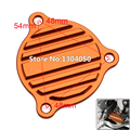 Orange CNC Billet Oil Pump Cover SXS07450265 Fit KTM 250 350 450 400 500 530 SXF XCF XCFW XCW EXCF SMR FREERIDE Free Shipping