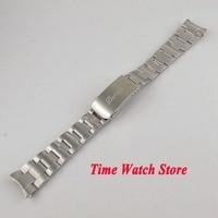 PARNIS 20mm width 316L stainless steel watch band watch strap bracelet Fit 40mm SUB men's watch S5