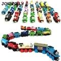 Magnético de madera thomas tren de circo donald señora gordon amigos camión vehículos ferroviarios pista diecast toys para niños gyh