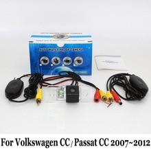 Для Volkswagen VW CC/Passat CC 2007 ~ 2012/RCA Проводной Или Беспроводной/HD Широкоугольный Объектив/CCD Ночного Видения/Автомобильная Камера Заднего вида