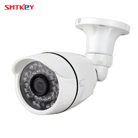SMTKEY For IOS & Android APP 2.8mm Lens 720P IP Camera Outdoor Waterproof IR 20m Night Vision P2P CCTV IP Cam ONVIF for NVR