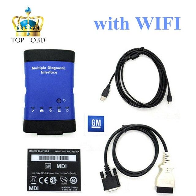 2017 GM MDI Multiple Diagnostic Interface with Wifi GM MDI Auto Diagnostic Tool gm mdi scanner dhl free shipping gm mdi