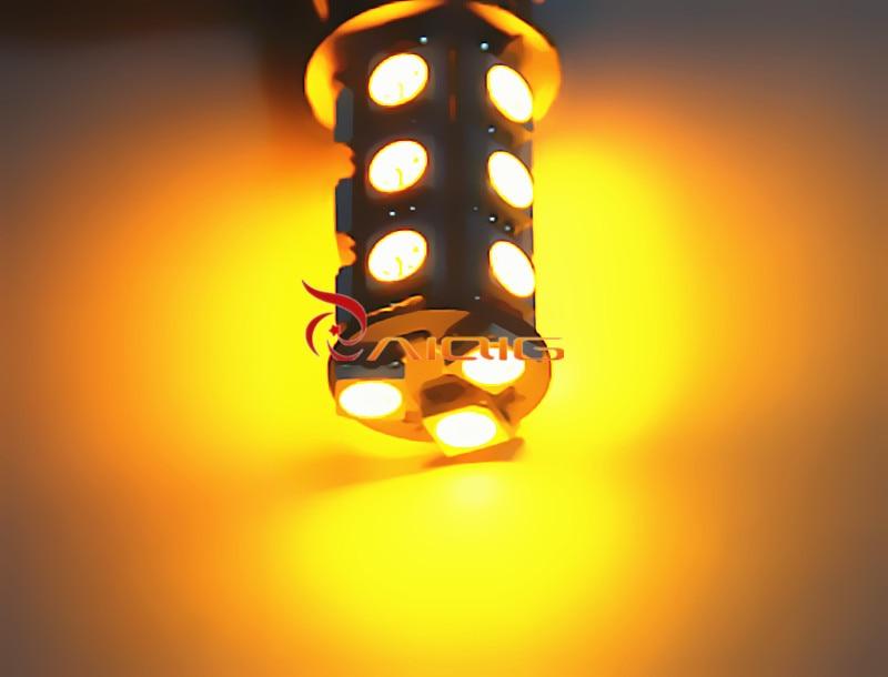 1157 BAY15D 18 SMD 5050 Κόκκινο, Κεχριμπάρι - Φώτα αυτοκινήτων - Φωτογραφία 6
