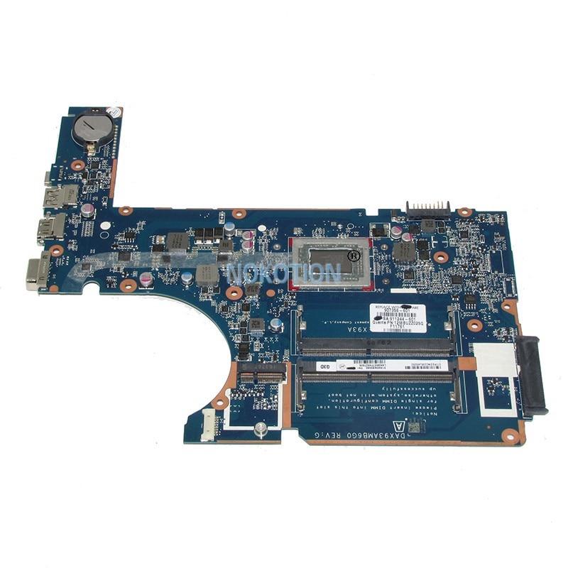NOKOTION 911244-601-911244 placa Principal Para HP Probook 455 G4 001 Laptop motherboard 907356-601 DAX93AMB6G0 obras