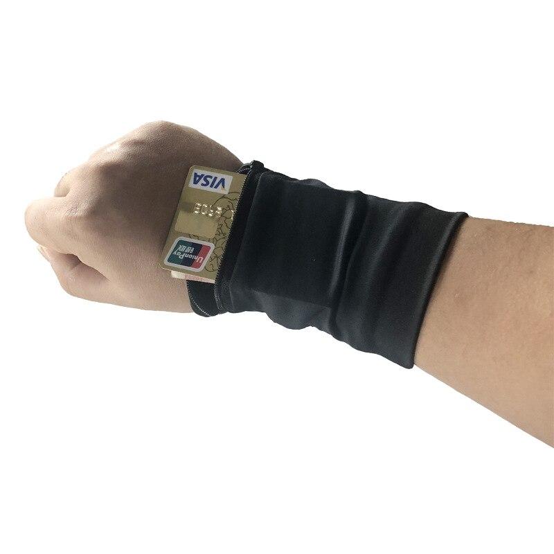 50pcsTravel portefeuille viaje poignet portefeuille changement sac à main 2018 unisexe hommes femmes sacs à main Portable poche clé Zipper voyage accessoires