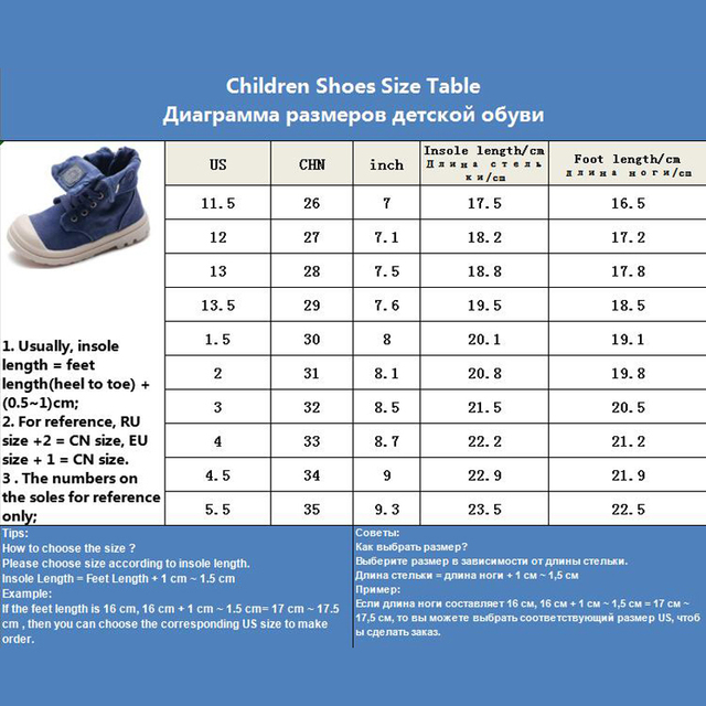 2019 Spring Autumn New Kids Sneakers High Children's Canvas Shoes Boys And Girls Child Baby Martin Boots Casual Military Boots 5