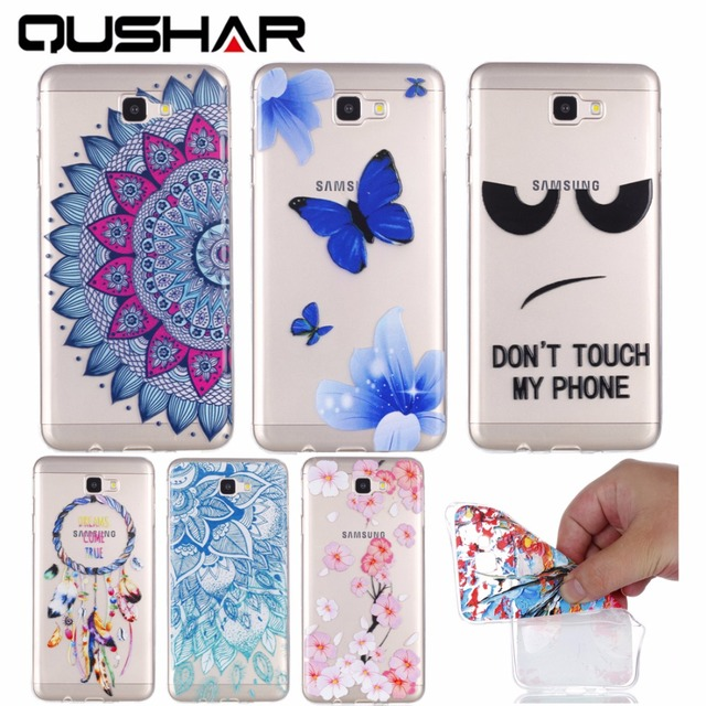 19045e58d97 QuShar Shockproof Back Cover for Samsung Galaxy J7 Prime Soft Silicone  Clear Thin Phone Case for Samsung J7 Prime Hoesjes Fundas