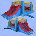 2016 Nova Casa do Salto Inflável, Uso Familiar Baratos Obstáculo Inflável, Castelo Inflável Inflável com o Lado para Crianças