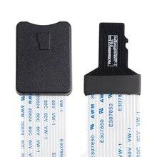 48 Cm/60 Cm Tf Mannelijke Micro Sd kaart Vrouwelijke Flexibele Card Verlengkabel Extender Adapter Reader Voor auto Gps Mobiele Telefoon