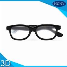0d9bf45ad433a 1 pcs 45 135 0 90 Graus Plástico Linear polarizada óculos 3D, IMAX 3D  Linear Óculos Polarizados Passivos glassess 3D Para Cinema.