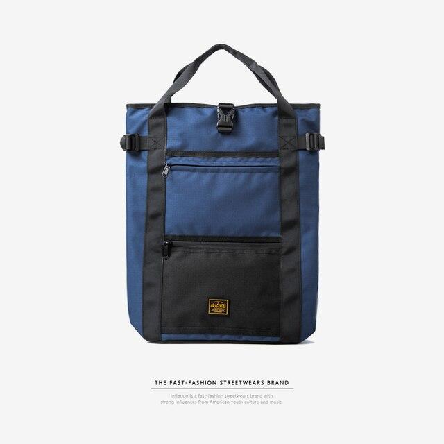 inflation laptop backpack men women school bags boy s streetwear