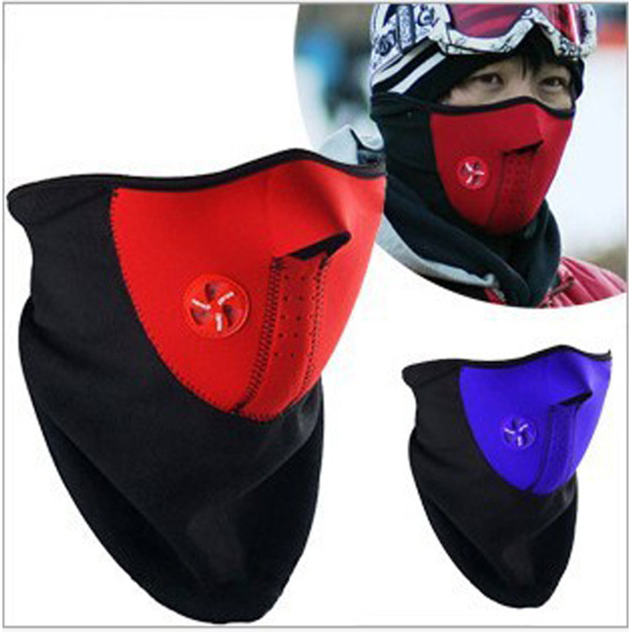 Winter Face Balaclava Mask High Quality Outdoor  Ski Warm Windproof Men Women  Mask For Cycling Promotion Skullies  Beanies protective outdoor war game military skull half face shield mask black