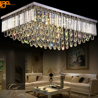 New Design Large Modern Chandeliers Crystal Lamps Lustre Kroonluchters AC110 240V LED Living Room Lights