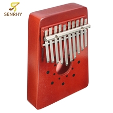 Hot Sale Red 10Keys Thumb Piano Traditional Musical Instrument Portable Great Gift For Beginner