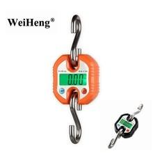 Balance numérique Portable en acier inoxydable, 150kg, 150KG, 50g, crochet suspendu, boucle de poisson, pesée lourde, rétro-éclairage vert