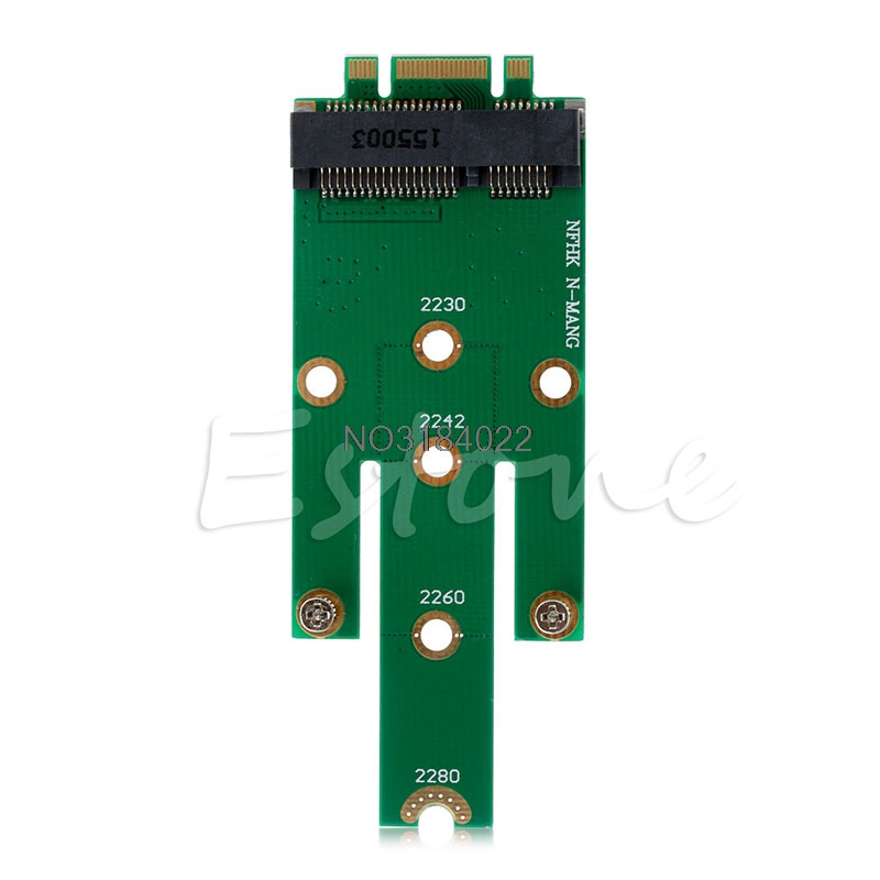 MSATA MINI pci-e 3.0 SSD к NGFF M.2 B Ключ SATA Интерфейс адаптера Новый