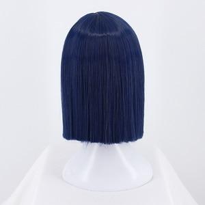 Image 5 - DARLING in the FRANXX Cosplay Wig Zero Two ICHIGO Halloween Costume Blue Synthetic Hair Perucas + Wig Cap
