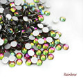 SS3-SS30 Rainbow 3D Nail Art Rhinestones Flatback Non Hotfix For Nails Decorations  288-1440pcs